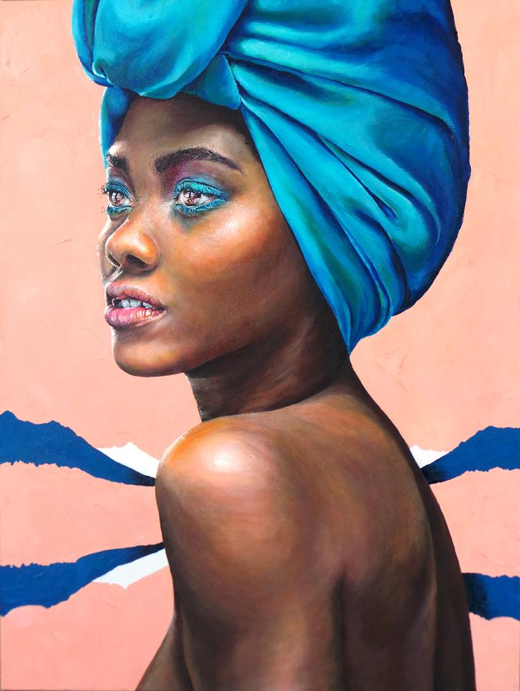 ' Landscape Louise'  Oil on Canvas: 60 x 80 cm  *SOLD