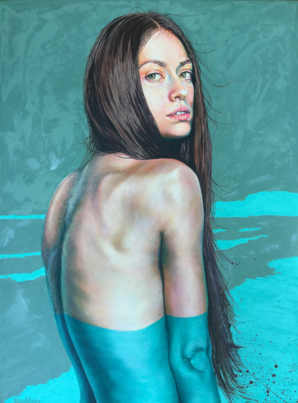 'Seabreeze'  Oil on Canvas 60 x 80cm *SOLD