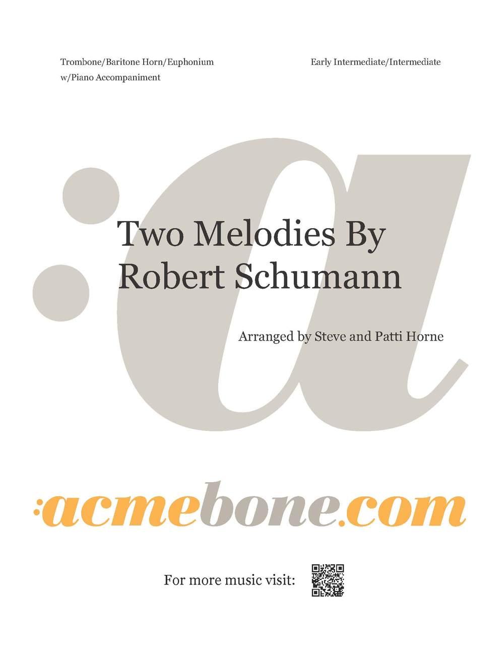 Two Melodies By Robert Schumann_digital_cover.jpg