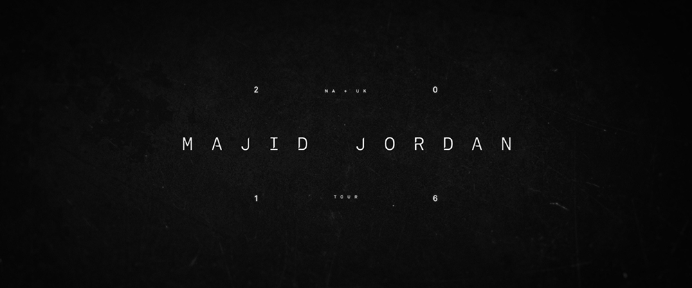 MAJID JORDAN TOUR DOCUMENTARY TITLES