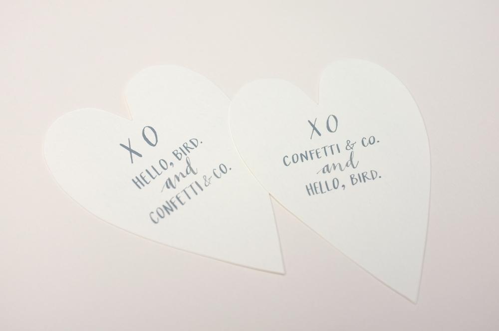 2014 valentines // lettering + photo by ashley wrenn-peterson - hello, bird.