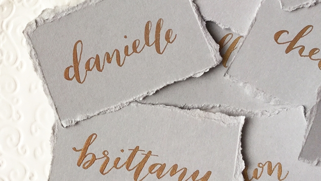 place cards by hello, bird.