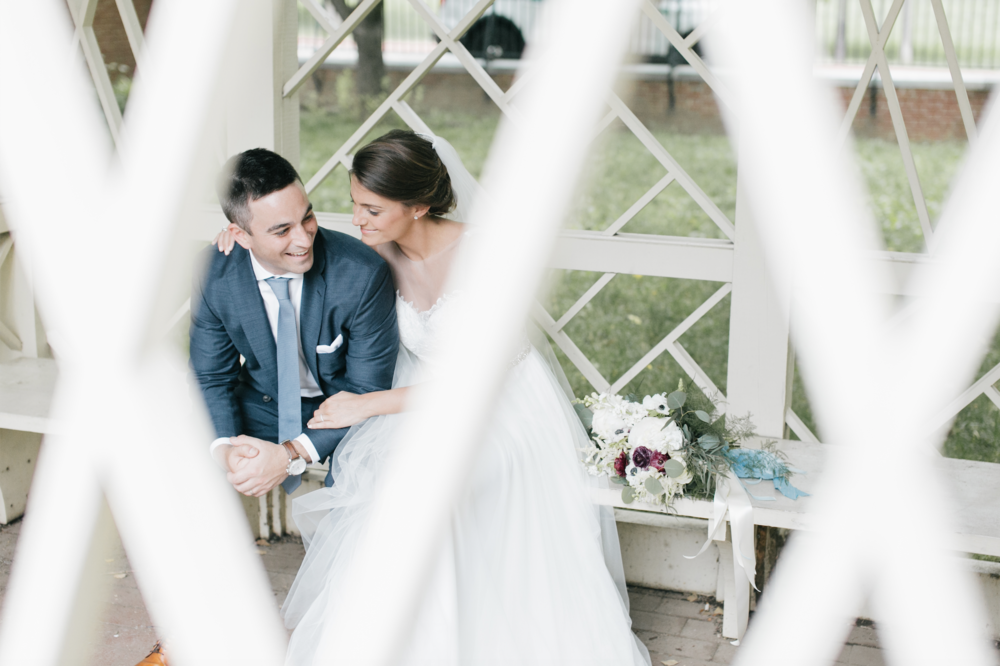 Jen + Billy's Philadelphia wedding // photo by Emily Wren Photography