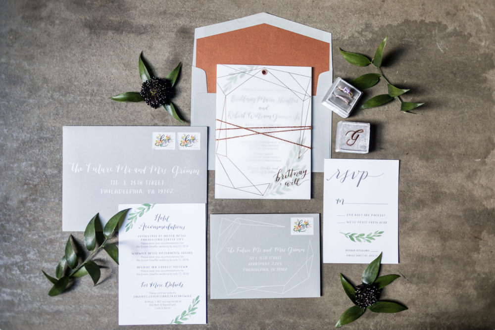 custom invitation suite by hello, bird. // photo courtesy of ashley gerrity photography