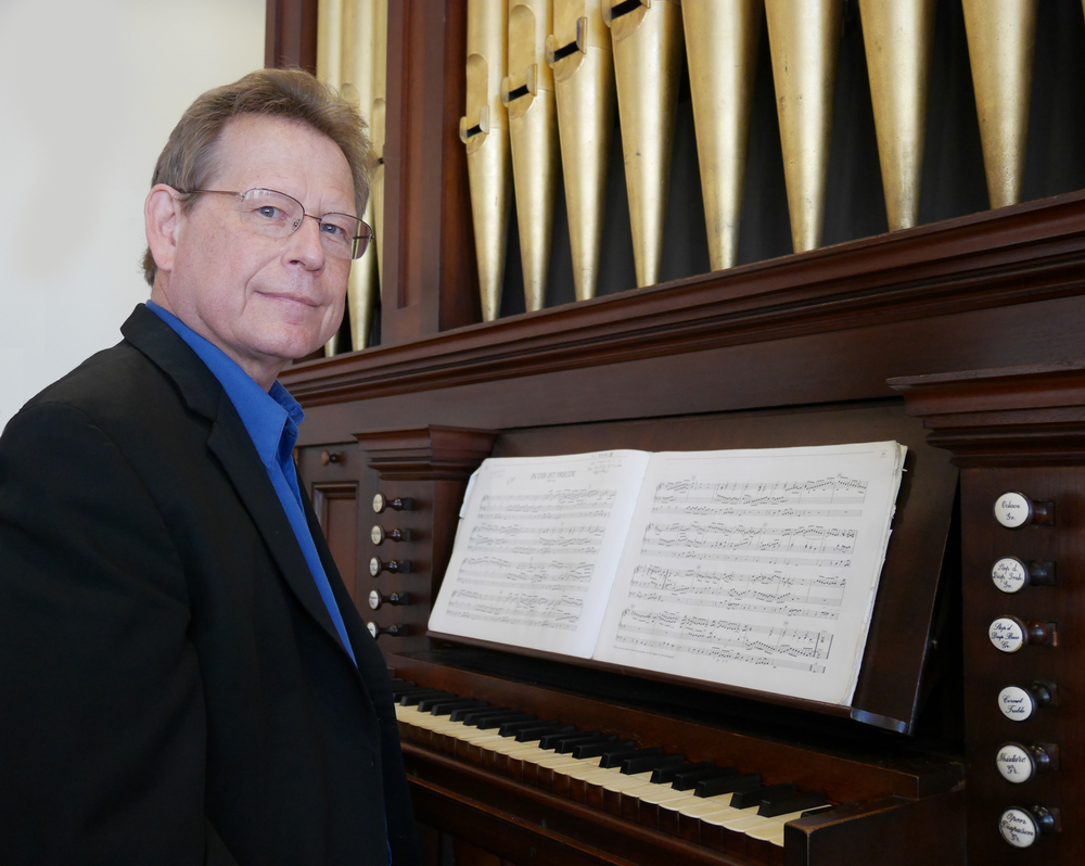 Director and Organist Keith Womer
