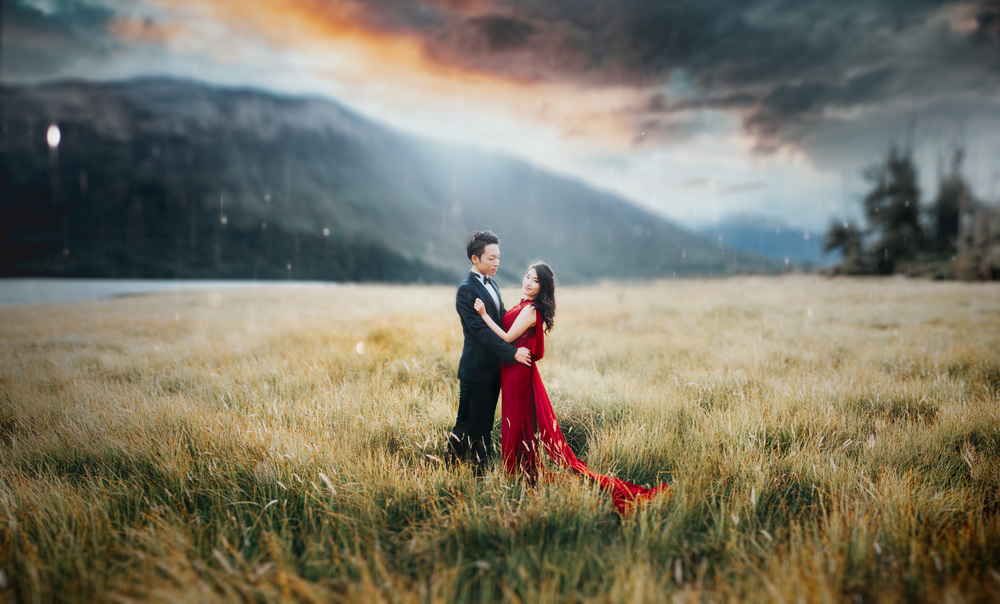 ニュージーランド 結婚式 ウェディング 前撮り テカポ クイーンズタウン