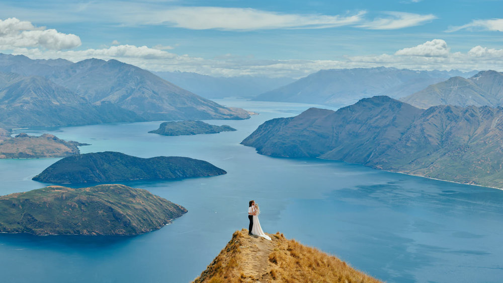 ニュージーランド クイーンズタウン テカポ湖 前撮り ウェディング 日本人 フォトグラファー