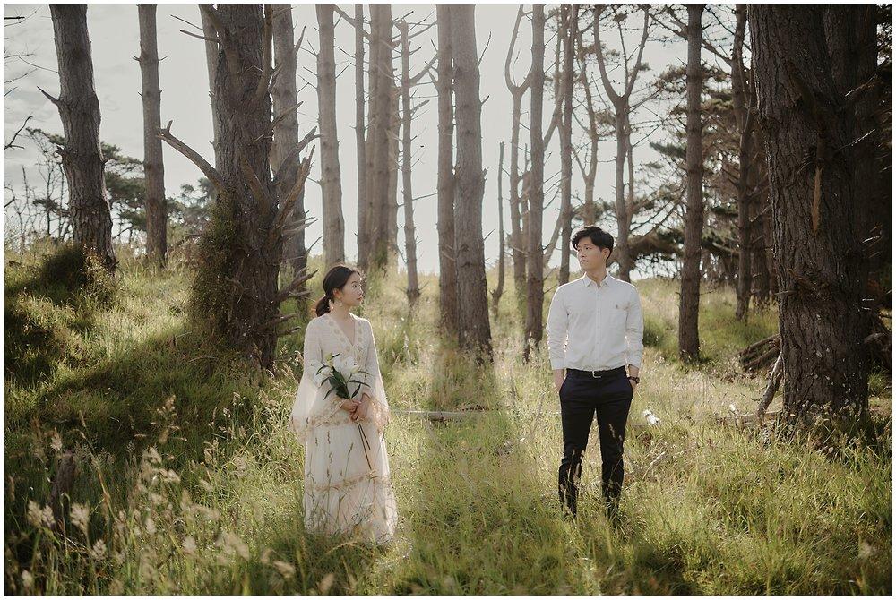Auckland Muriwai Prewedding Engagement Shoot 오클랜드 웨딩 스냅 オークランド ウェディングフォト 前撮り