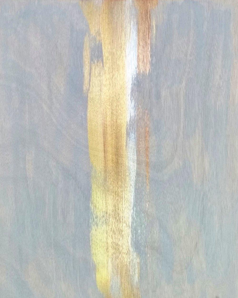 "STRIKE NOW / acrylic / 16"" x 20"" on canvas"
