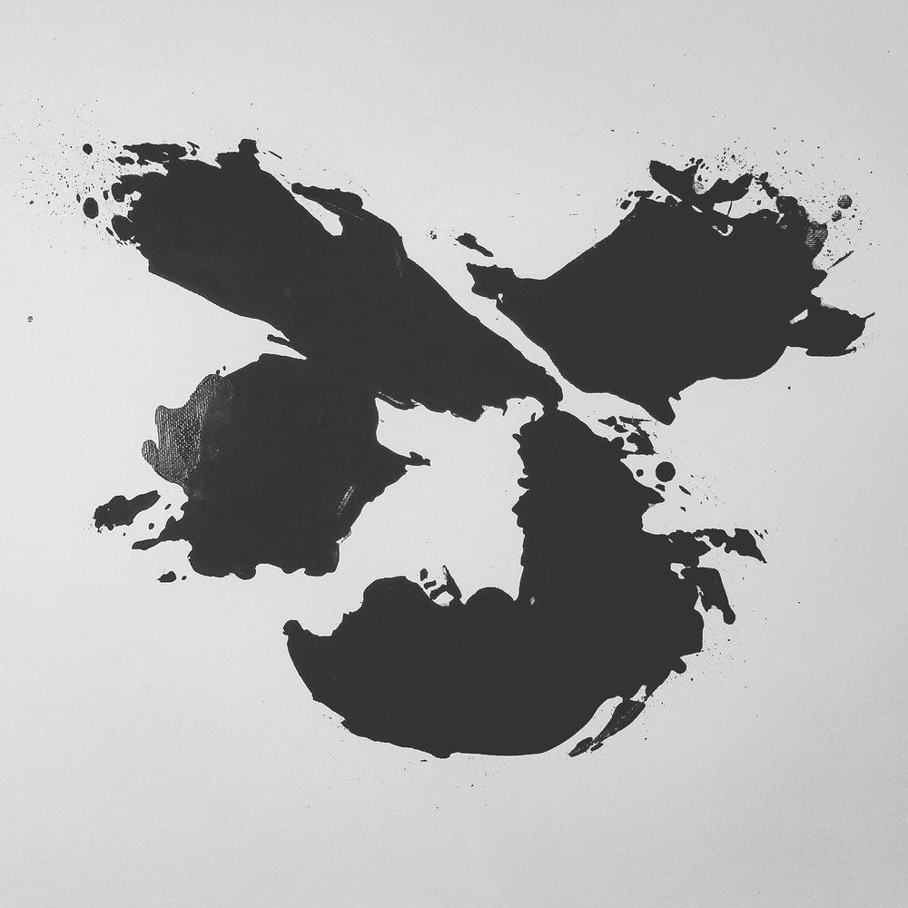 "FLEETING GLIMPSE / acrylic / 16"" x 20"" on canvas"