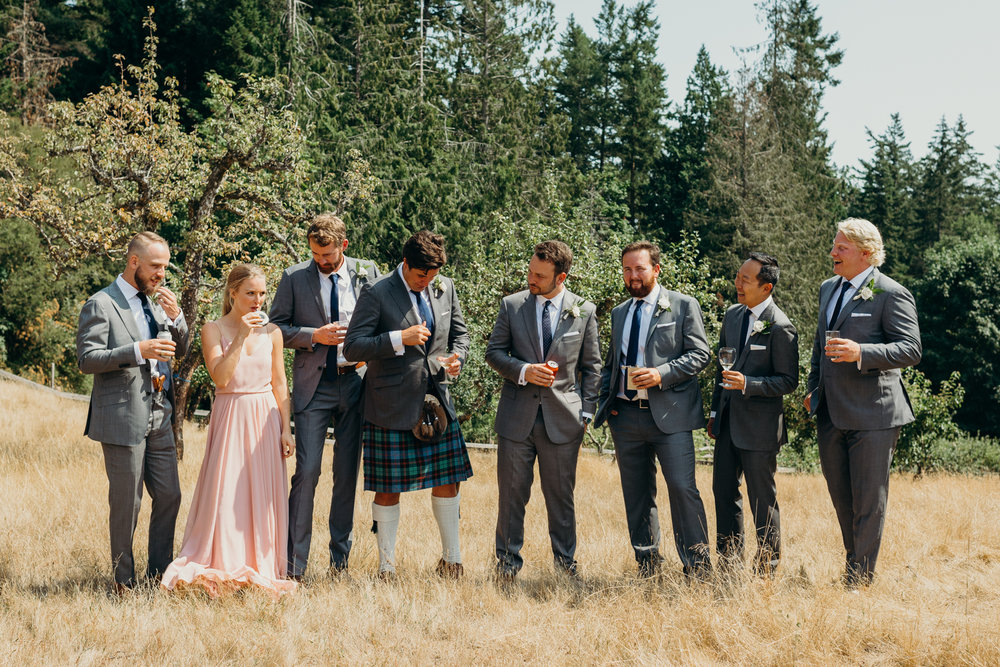 Turtlehead Farm Orcas Island Washington Wedding 48