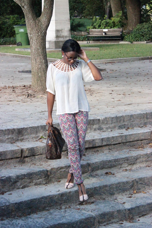 Shirt and Pants:   Thrift,   Shoes:   Zara,   Watch:    Michelle   Urban Mini