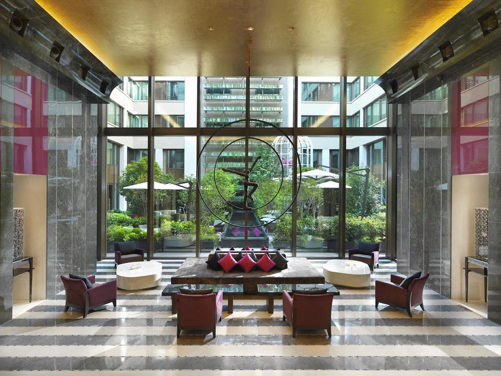 Main Lobby ,   Photo Provided by The Mandarin Oriental Paris
