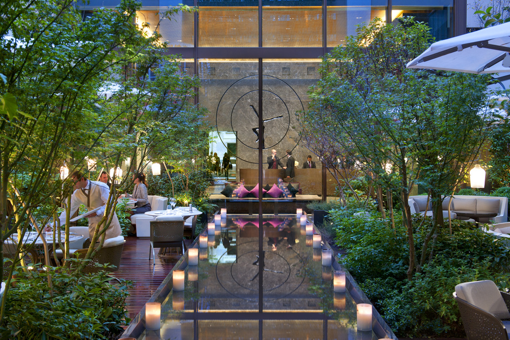 The Garden, Photo Provided by The Mandarin Oriental Paris