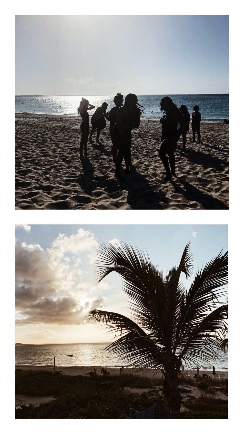 Black Girl Magic Turks and Caicos Providenciales Beach Grace Bay Beach Bridesmaids