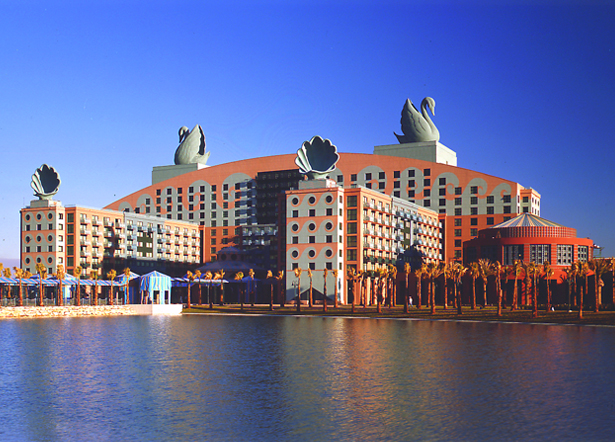 Disney Swan and Dolphin Hotels, interior color and pattern designs