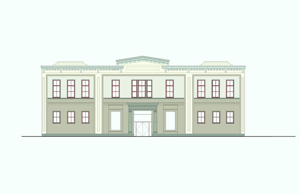 Family Justic Center, Boston, proposed facade color