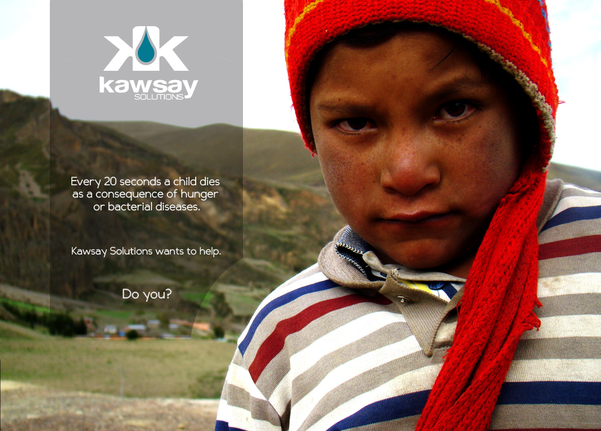 It is estimated that there are 2.2 billion children in the world and 1 billion of those are directly affected by poverty and because of this I was motivated to develop the Kawsay Food Kit. Kawsay means living in Aymara, one of Bolivia's native languages.  This kit will be a distribution container meant to make food distribution in impoverished rural areas of the world more human, personal and much more effective than the current solutions. It will be a low cost & biodegradable production intended to combat unhygienic food storage and promote long term solutions.  This concept is currently in the prototyping phase & requires YOUR help to make it a reality. As an Industrial Designer I've tested almost every aspect of the functionality of this container but more in-depth, infield testing is also necessary.   Together we can change the lives of those in need.     http://www.gofundme.com/2td5ts