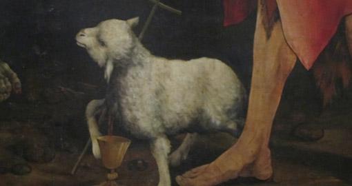 lamb-pierced