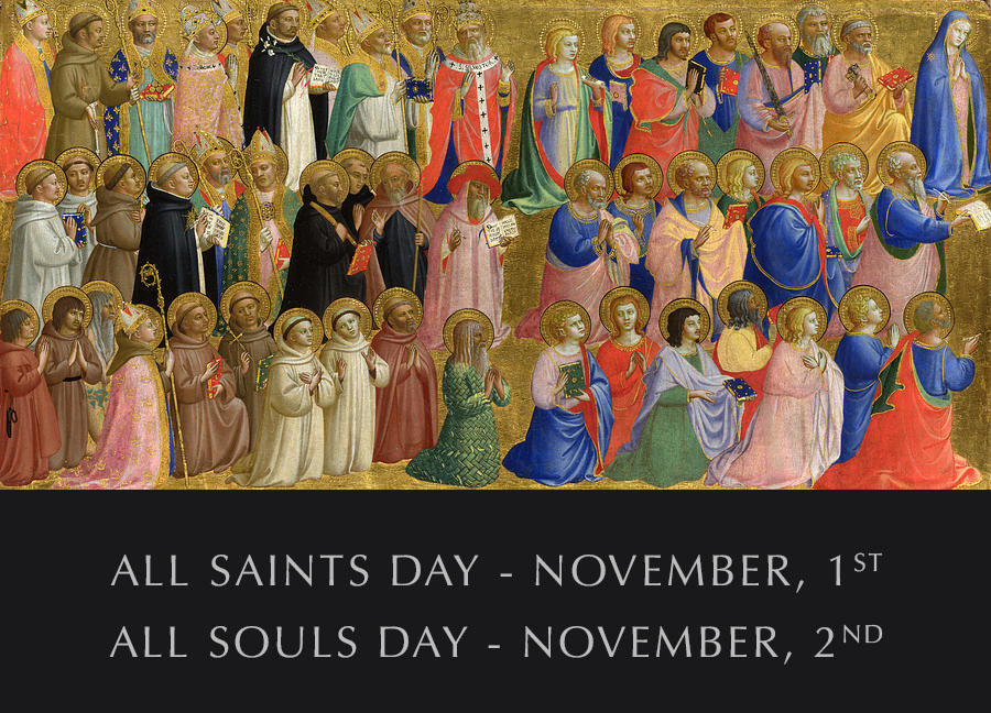 All Saints Day, All Souls Day Mass Times — St. Peter's Chuch