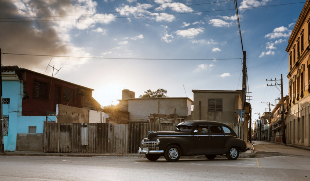 Old Cuban Car by Nicolás Biglié from One Million Photographers