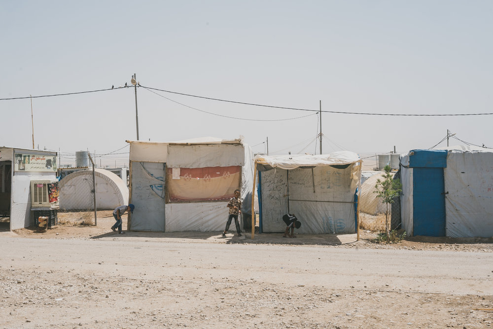 All images taken in IDP camps located in Kurdistan-Iraq by talented photographer and friend of 100cameras,  Moo Jae .