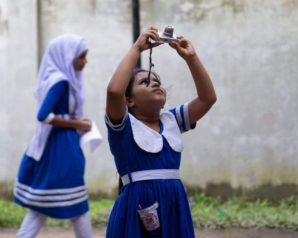 Snapshot Dhaka    is a part of a 8 class course that is custom designed by 100cameras to equip passionate creatives with the tools to empower kids in a community they care about with the opportunity to learn how to process their stories and create change.