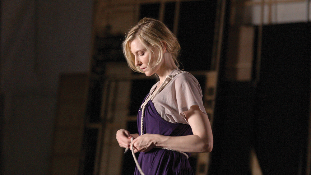David Rosetzky, Portrait of Cate Blanchett, 2008 (still) Courtesy the artist and Sutton Gallery, Melbourne