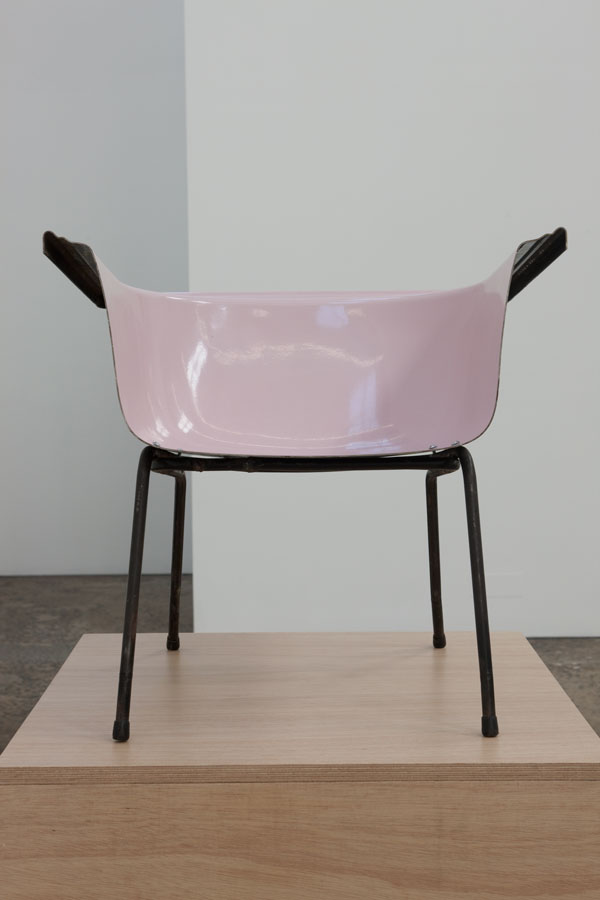 Stuart Ringholt,  Untitled (wing chair - pink),  2009 Hayman Collection