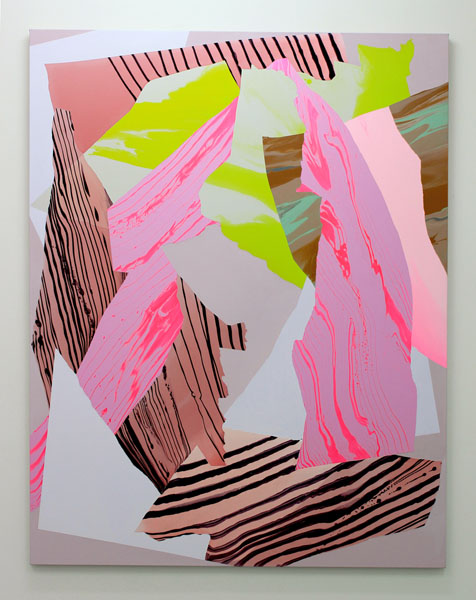 Noël Skrzypczak,  Mountain Painting #8 , 2014 Courtesy the artist and Neon Parc
