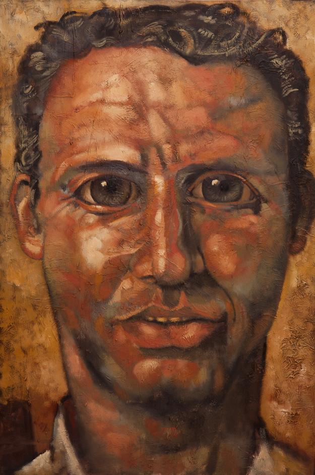 """Jonno  oil on canvas - 33"""" x 49"""""""