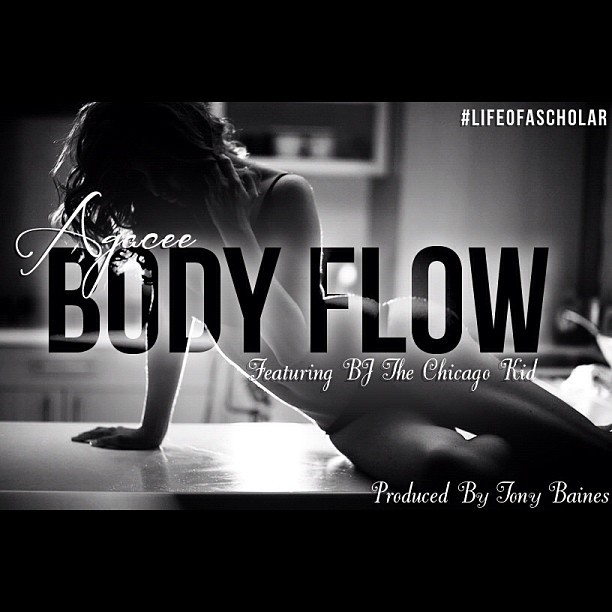 """Go download Agacee x BJ The Chicago Kid """"Body Flow"""" produced by @bainesgod http://soundcloud.com/agacee (Taken with instagram)"""