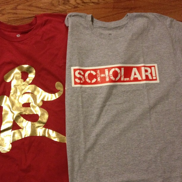 A few shirts left get yours today thescholarlife@gmail.com (Taken with Instagram)