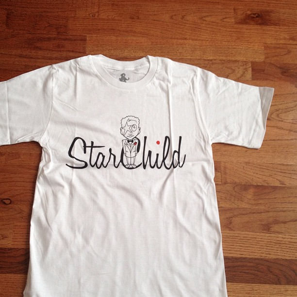 Starchild After 5 (white) $20.00 reg. price $29.99 roadscholar.bigcartel.com (Taken with Instagram)