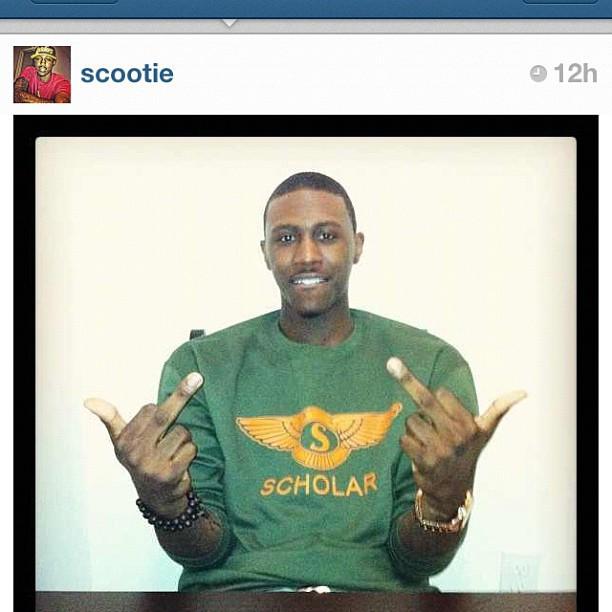 @scootie in the Scholar Bentley Edition crew #rsl (Taken with Instagram)