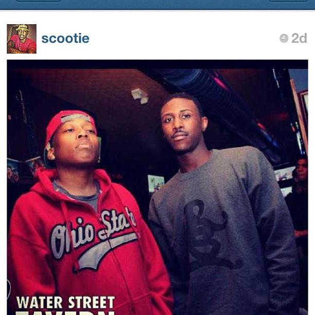 My Lil bro @scootie in #rsl (Taken with Instagram)
