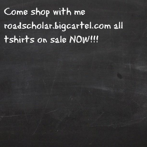 Support the movement shop #rsl roadscholar.bigcartel.com (Taken with Instagram)