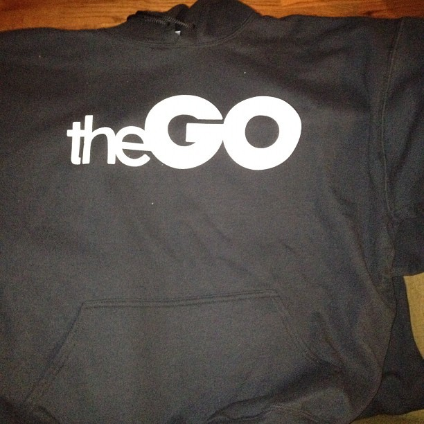 There in #theGOhoodie available Friday…Chicago this is for you!!!