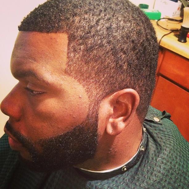 I do it all…fresh cuts #barber #scholarlife