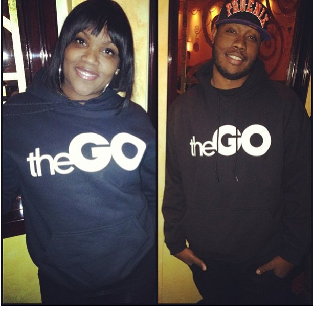 Shouts to @nikisrgbqq and the homie for rockin #thegohoodie #rsl