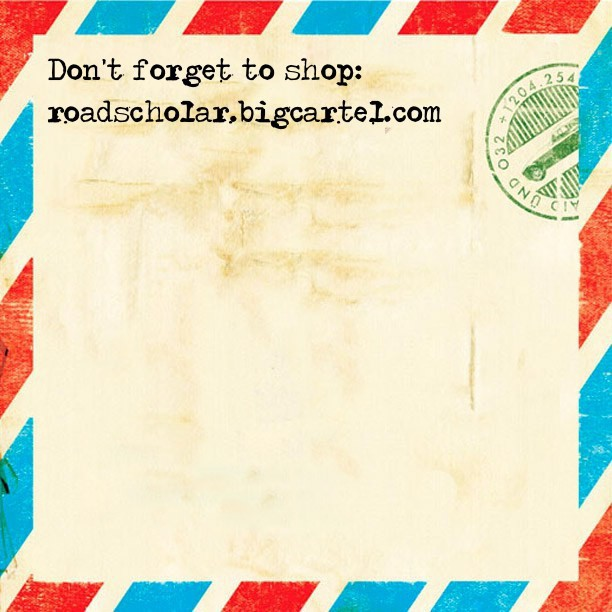 Shop #roadscholarlifestyle roadscholar.bigcartel.com
