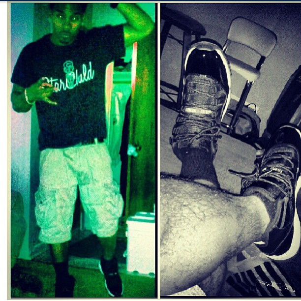 @tha_opportunist rockin the #Starchild tee #rsl #fashion #breds #jordanxi