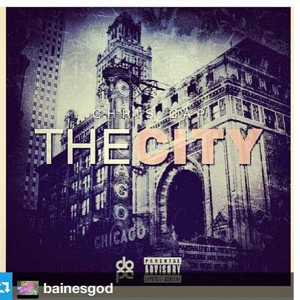 The City mix tape from @chriscaplive is out and dope go grab now #scholars