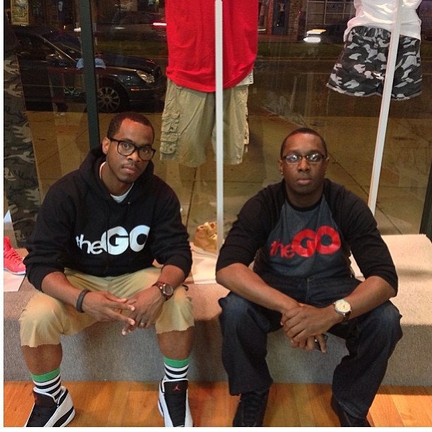 My bros @turancornell and @mrallensays #thego #chicago #fashion #streetwear #scholars #rsl #roadscholarlife
