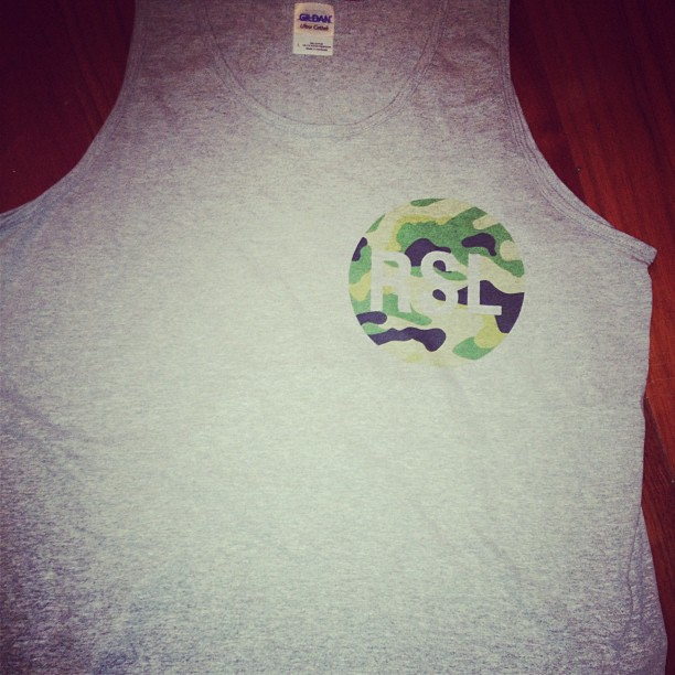 Sample tank top with new #rsl logo thoughts? #LateSummerCollection #fashion #tanktops #roadscholarlifestyle
