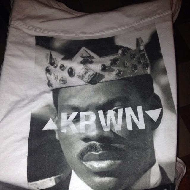 It's here! #krwn #tshirt #fashion #streetwear