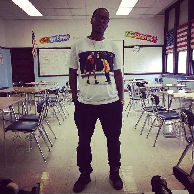 @turancornell in that 1 of 1 #rsl #mikes #tshirt #michaeljordan #michaeljackson #roadscholarlifestyle