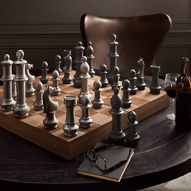 Life is Chess - good morning #LifeOfAScholar