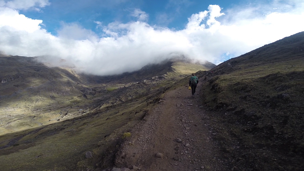 Hiking the remote Lares Trail in Peru, some of the best days of my life.