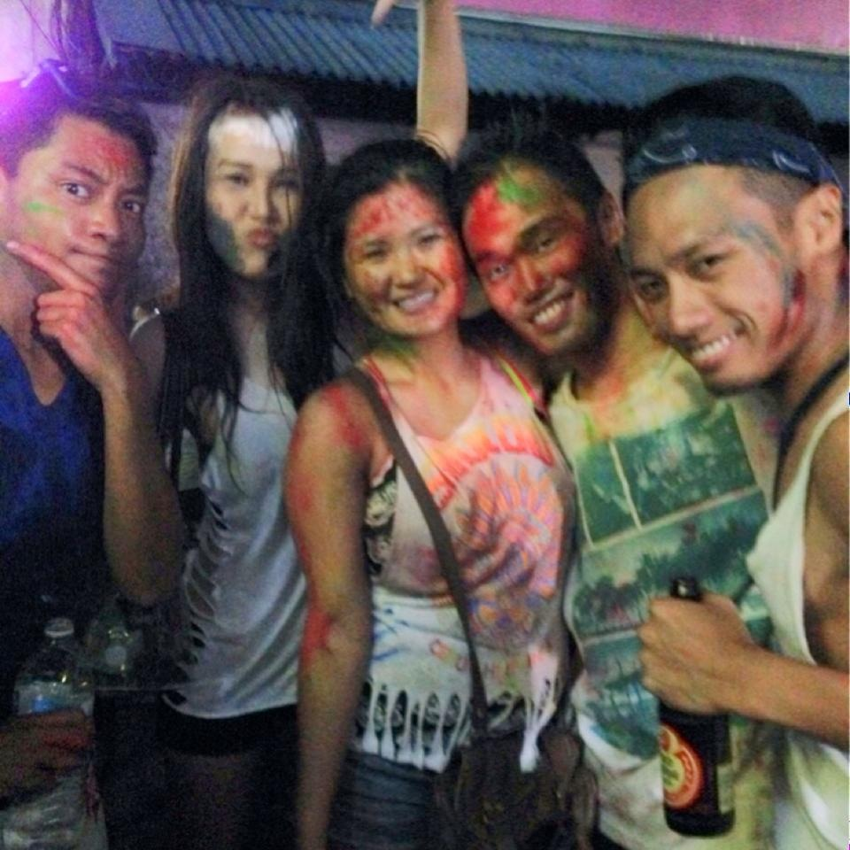 Sinulog craziness with friends! (pic c/o Jaja Go)